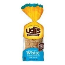 Udis Gluten Free White Sandwich Bread Loaf, 33 Ounce -- 6 per case. by Pinnacle Foods