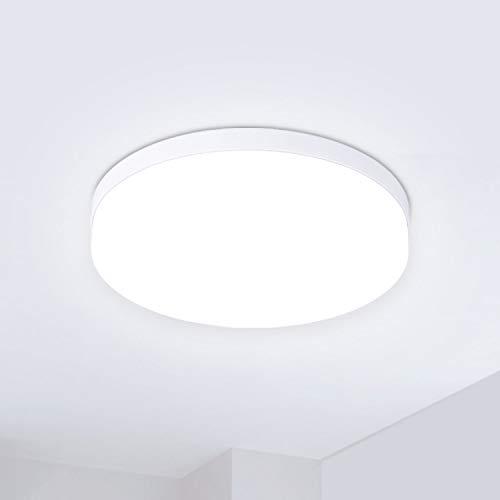 Hosome Plafondlamp LED 36W 3040LM Plafondverlichting 4500-5000K koel wit licht voor Keuken, Woonkamer, Slaapkamer, Hal…