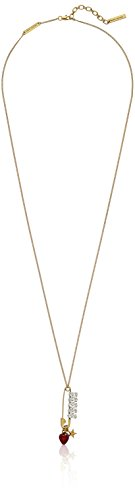 Marc Jacobs Charms Safety Pin Strawberry Pendant - Jacobs Necklace By Marc Charm Marc