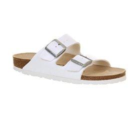 Birkenstock - Sandalias de vestir para mujer blanco - White Birko Flor