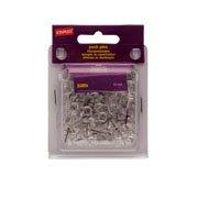 Staples; Push Pins, Clear, 500/Tub