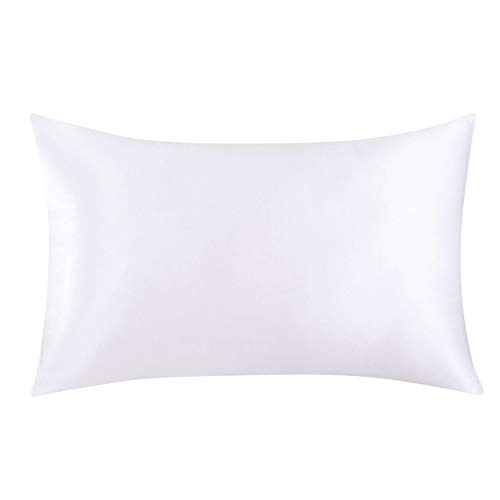 SLPBABY 100 Natural Pure Silk Pillowcase for Hair and Skin Both Side 19 Momme Silk Luxury Smooth