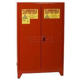 Eagle Paint/Ink Tower Safety Cabinet with Manual Close - 60 Gallon (PI-47LEGS)