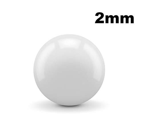 2mm ZrO2 Zirconium Oxide Ceramic Ball Bearings G5-10 Bearings ()