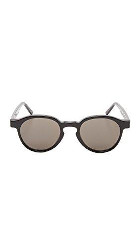 SUPER by Retrosuperfuture Lunettes de soleil emblématiques en noir SUPER 85L Grey