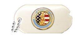 US Army National Guard Dog Tag Lapel ()