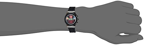 Five-Nights-at-Freddys-Boys-Quartz-Plastic-and-Rubber-Casual-Watch-ColorBlack-Model-FNF3004