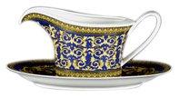 Versace by Rosenthal Medusa Blue Sauce Boat