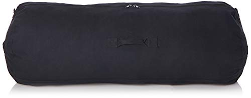 - Deluxe Duffel Bag w/Zipper, Black - 50
