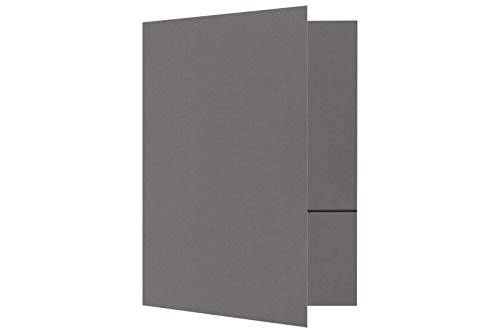 9 x 12 Presentation Folders - Smoke (10 Qty) | Perfect for Tax Season, Brochures, Sales Materials and so Much More!| LUX-PF-22-10