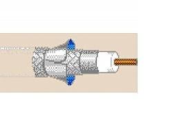 7916A 5 Reels RG6/U Series 6 DBS Coax Cable 18 AWG Solid Bare Copper Overall Foil/Aluminum Braid 60%/40% CM for Video/RF - Black - 500FT Reel Belden (Units of 500 - Reel Aluminum Braid