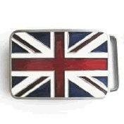 British English Flag Belt Buckle (Retro Buckle)