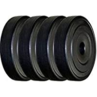 Protoner PVC Spare Plates for Home Gym, 20 kg