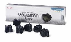 (Xerox 108R00727 Solid Ink Stick, 6800 Page-Yield, 6/Box, Black)