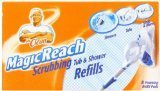 48 Count Mr. Clean Magic Reach Scrubbing Tub and Shower Pads, 6 Pack - 8 Count Ea = 48 Refills Magic Reach by Mr. Clean