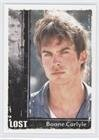 Ian Somerhalder; Boone Carlyle (Trading Card) 2010 Rittenhouse LOST: Archives - [Base] #58