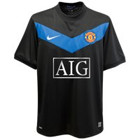 09 Replica Jersey (Nike Manchester United Youth Away Jersey 09/10 B)