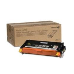 Xerox 106R01390 Phaser 6280 Yellow Standard Capacity Print Cartridge, Office Central