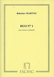 Editions Durand Duo No. 1 (Violin and Cello) Editions Durand Series Composed by Bohuslav ()
