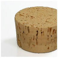 WIDGETCO Size 36 Large Cork Stoppers, Standard