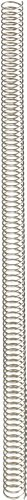 0.25 Lb Spring (Continuous Length Compression Spring, Hard Drawn Steel, Inch, 0.5