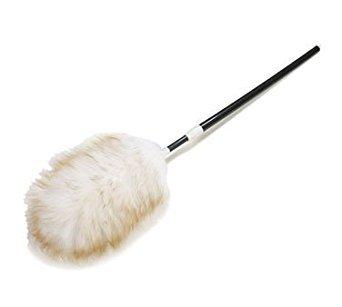 Carlisle 4573300 Extending Lambs Wool Telescopic Duster With Handle, 30''- 42'' Length