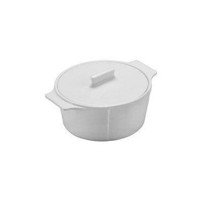 BIA-Cordon-Bleu-904912-125-Quart-Capacity-Round-White-Porcelain-Casserole-95-Inch