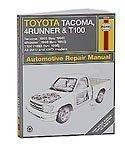 Haynes Repair Manuals 92078 Toy Tundra Sequoia,00-02