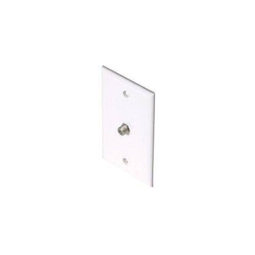 Steren 200-251LA Coaxial Faceplate - Light Almond ()