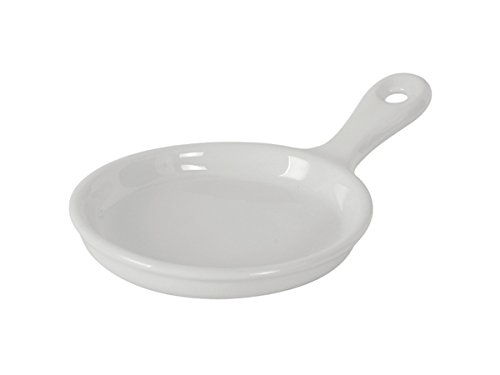 Tuxton GLP-650 Vitrified China Linx Skillet, 6-1/2 oz, 9