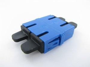 Panduit SC Duplex Singlemode Fiber Optic Adapter/Coupler with Zirconia Ceramic Split Sleeves, BAG OF 50 PCS FADSCZBU-L by Panduit