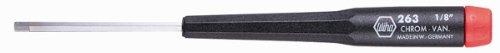 Wiha 26340 Precision Screwdriver, Hex Metric, 4.0 x 60mm