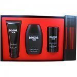 DRAKKAR NOIR Cologne. 3 PC. GIFT SET ( EAU DE TOILETTE SPRAY 3.4 oz / 100 ml + AFTERSHAVE BALM 1.7 oz / 50 ml + ALCOHOL FREE DEODORANT STICK 2.6 oz / 75 ml ) By Guy Laroche - Mens