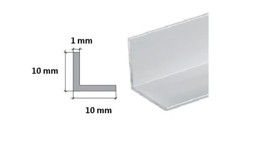 Various Sizes Aluminium Extruded Angle Length 2000 mm