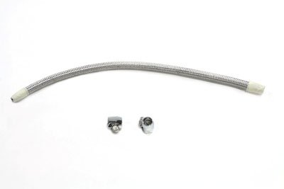 - V-Twin 35-0680 Cross Over Fuel Line Kit Stainless Steel