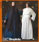 Simplicity Costume Sewing Pattern 4443 Misses' Star Wars Theme Princess