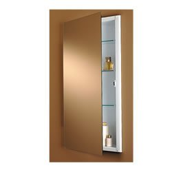 Jensen 639BC Illusion Narrow Body Medicine Cabinet with Polished Mirror,  13-Inch by 36
