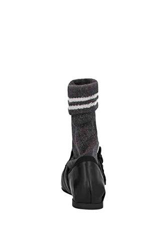 Pour Femmes Talons Plats Miu GrisNoir À En Cuir Chaussures 5f152c3klqf0700 7gybf6Y