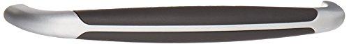 Siro Designs SD57-110 Lenox Pull, 6.65-Inch, Chrome/Black