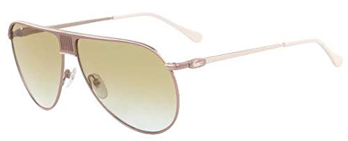 Amazon.com: Lacoste Mens L200s Aviator Sunglasses, Gold ...