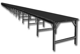 Phillocraft, 8 Foot Wide Starter Tables With Plastic Laminated Tops,  Prod Tbl