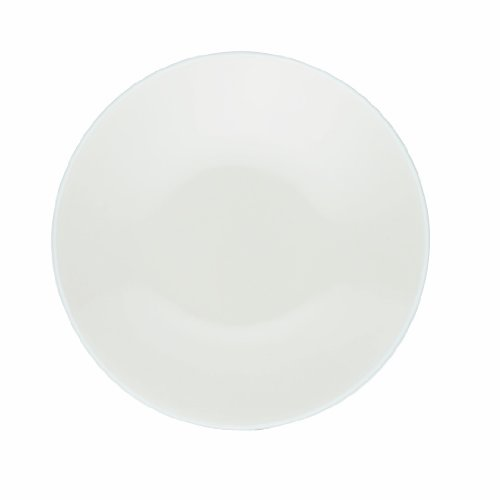 Noritake Colorwave White 6-1/4-Inch  Plate, Set of 4 (Suede Plate Round)