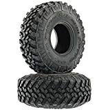 AXIAL AX31565 1.9 Nitto Trail Grappler M/T RC Monster Truck Tires, R35 Compound (2) Black (Best Trail Tires For Truck)