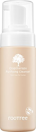 Rootree Cryptheratpy Purifying Cleanser 150ml(5.07 fl oz) 1EA - Cleansing/Make-up remover with Natural originated ()