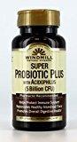 - Windmill Natural Vitamins Super Probiotic Plus with Acidophilus (5 Billion CFU) 60 Capsules (Pack of 2)