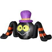 Halloween Inflatable 4' Long Spider w/ Top Hat by Gemmy]()