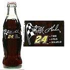 Jeff Gordon #24 1995 Championship Commemoration Coca Cola Full Unopened Bottle 8 Oz - Full Coke Bottle