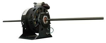 Motor, 1.1 HP, 4 SPDT, 115V, Double Shaft