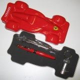 Ferrari Monza pen with L.E.D - a great gift for formula 1 fans