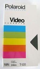 Polaroid Supercolor VHS T-120 2pack